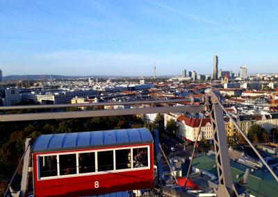 View from the Vienna Giant Ferris Wheel