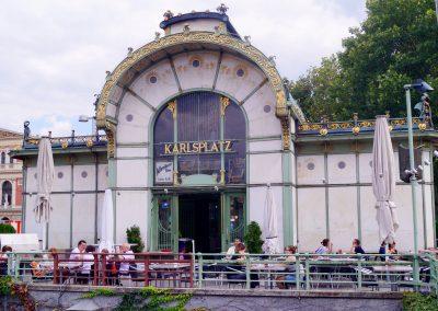 Otto Wagner, station Karlsplatz