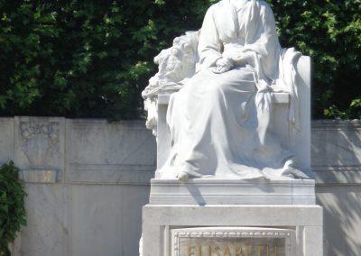 Sisi-Denkmal im Volksgarten