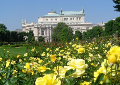 Burgtheater and Volksgarten
