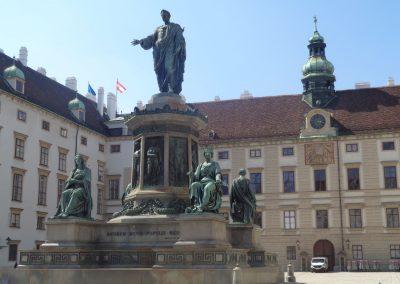 Hofburg, statue of Francis I