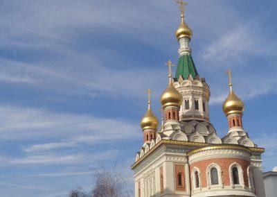 Russisch-Orthodoxe Kathedrale zum heiligen Nikolaus