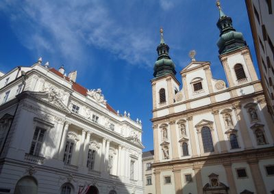Jesuit church and old university
