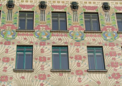 Otto Wagner, houses on Wienzeile