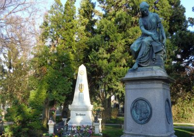 Central Cementary: In memory of Beethoven and Mozart