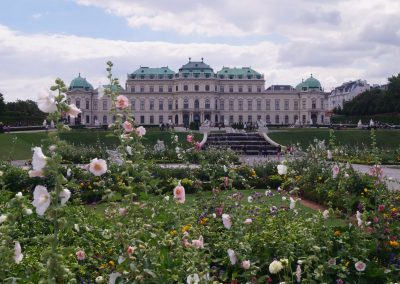 Upper Belvedere and gardens