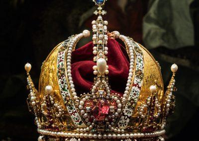 Kaiserliche Schatzkammer: Krone Kaiser Rudolfs II.