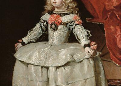 Kunsthistorisches Museum: Velazquez, Infanta Margarita Teresa