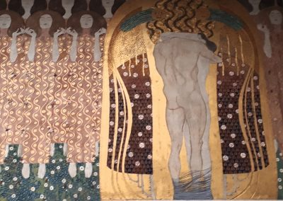 Secession, Beethovenfries von Gustav Klimt